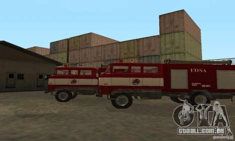 Fogo IFA para GTA San Andreas traseira esquerda vista