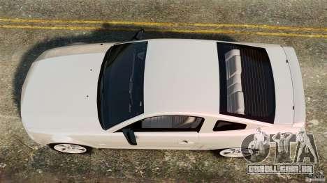 Ford Mustang GT 2005 para GTA 4 vista direita
