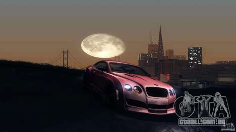 Bentley Continental GT Premier4509 2008 Final para GTA San Andreas interior