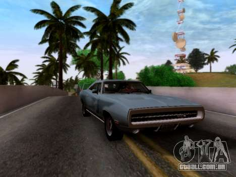 Dodge Charger RT para GTA San Andreas traseira esquerda vista