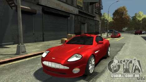 Aston Martin Vanquish S v 2.0 matizado para GTA 4