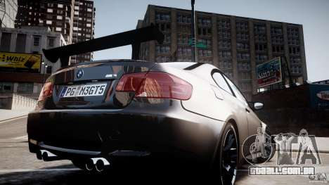 BMW M3 GT-S V.1.0 para GTA 4 vista interior