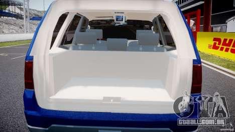 Lincoln Navigator 2004 para GTA 4 vista inferior