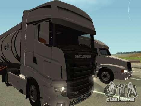 Scania R700 Euro 6 para GTA San Andreas vista traseira