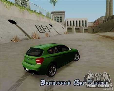 BMW M135i V1.0 2013 para o motor de GTA San Andreas