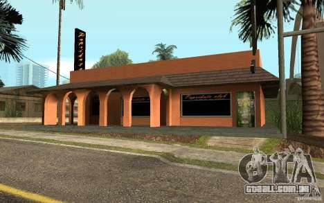 Um novo bar em Gantone v. 2 para GTA San Andreas segunda tela