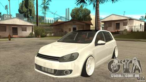 Volkswagen Golf VI 2010 Stance Nation para GTA San Andreas
