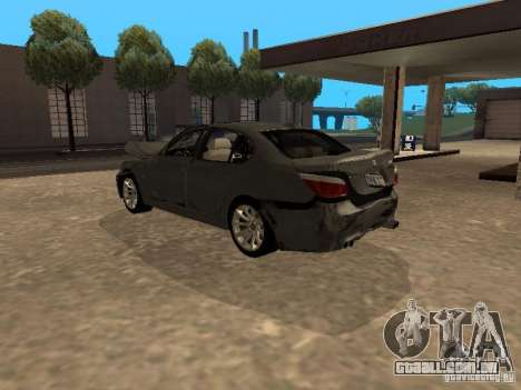 BMW M5 E60 2009 v2 para o motor de GTA San Andreas