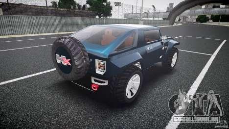 Hummer HX para GTA 4 vista lateral