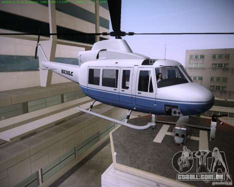 HD Maverick para GTA Vice City deixou vista