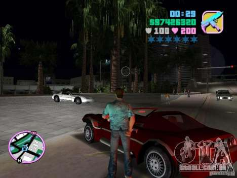 Phobos VT de Gta Liberty City Stories para GTA Vice City vista traseira esquerda