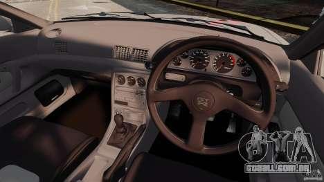 Nissan Skyline GT-R (BNR32) para GTA 4 vista de volta
