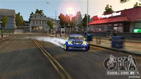 Subaru Impreza WRX STI Rallycross BFGoodric para GTA 4 vista inferior