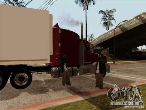 Peterbilt 377 para GTA San Andreas vista direita