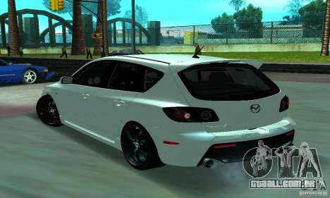 Mazda Speed 3 para GTA San Andreas esquerda vista