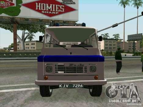 Zuk A-1805 para GTA San Andreas vista direita