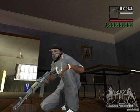 AKM HD para GTA San Andreas segunda tela