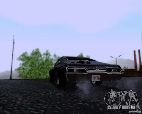 Super Natural ENBSeries para GTA San Andreas terceira tela