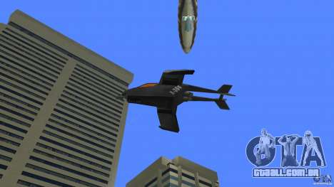 X-304 Gunship para GTA Vice City vista direita