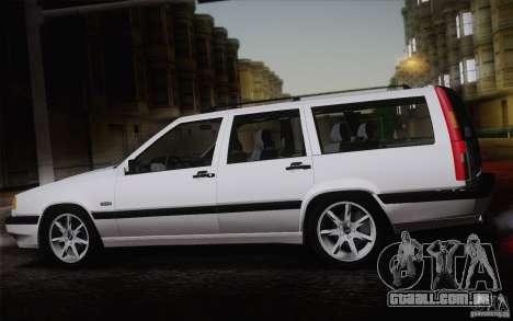 Volvo 850 Estate Turbo 1994 para GTA San Andreas vista direita