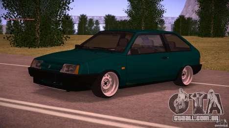 VAZ 2108 baixo clássico para GTA San Andreas
