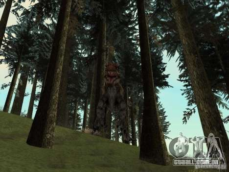 Dinosaurs Attack mod para GTA San Andreas décimo tela