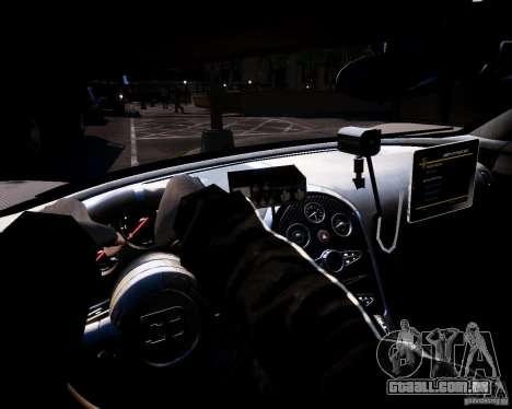 Bugatti Veryon SS COP para GTA 4 vista de volta