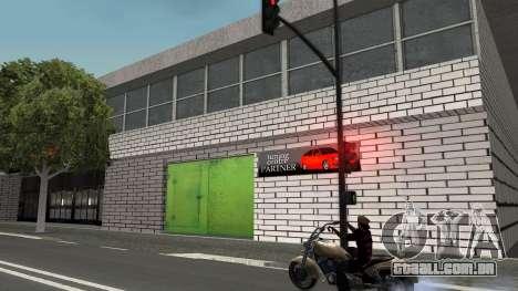 Estrutura de garagens e edifícios em SF para GTA San Andreas por diante tela