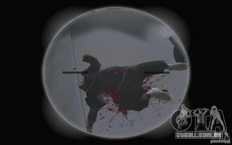 Animação de GTA IV v 2.0 para GTA San Andreas por diante tela