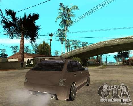 LiquiMoly Vaz 21093 para GTA San Andreas traseira esquerda vista