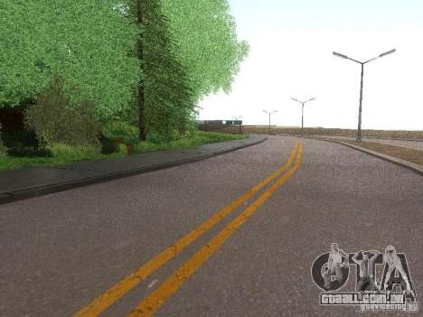 Modification Of The Road para GTA San Andreas
