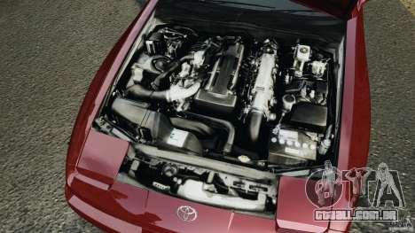 Toyota Supra 3.0 Turbo MK3 1992 v1.0 [EPM] para GTA 4 vista superior