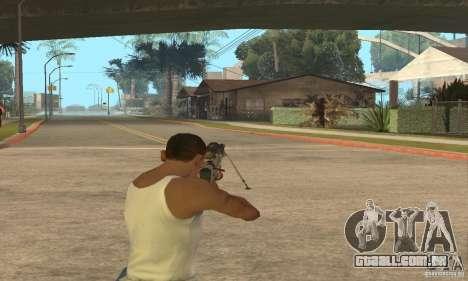 Intervenšn de Call Of Duty: Modern Warfare 2 para GTA San Andreas sétima tela