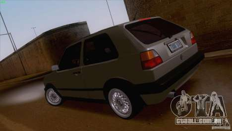 Volkswagen Golf Mk2 GTi para GTA San Andreas esquerda vista