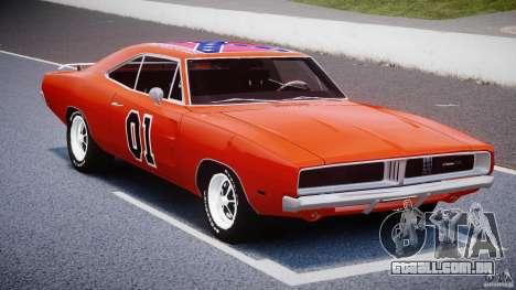 Dodge Charger General Lee 1969 para GTA 4