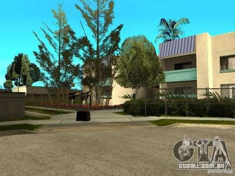 New Grove Street TADO edition para GTA San Andreas décimo tela