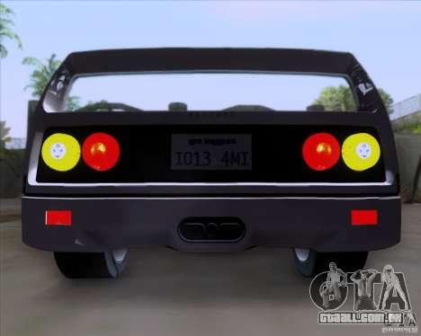 Ferrari F40 para GTA San Andreas traseira esquerda vista