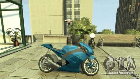 Yamaha YZR M1 Street Version para GTA 4 esquerda vista