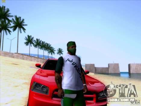 Machete from Far Cry 3 para GTA San Andreas segunda tela