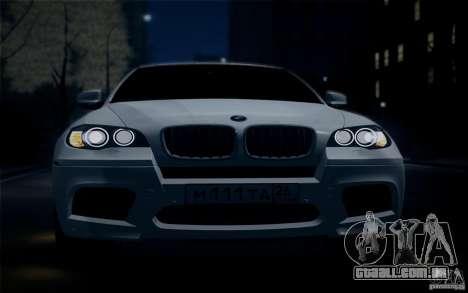 BMW X6M E71 para GTA San Andreas vista direita