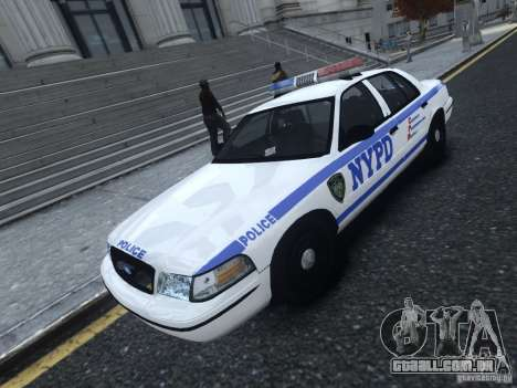 Ford Crown Victoria NYPD 2012 para GTA 4