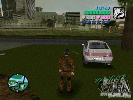 VAZ-2112 para GTA Vice City deixou vista