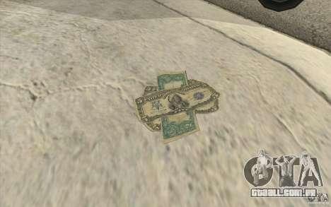 Dinheiro novo para GTA San Andreas segunda tela