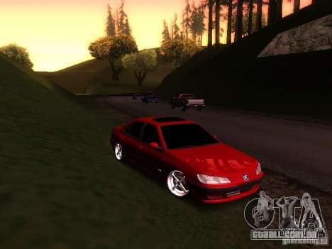 Peugeot 406 para GTA San Andreas esquerda vista