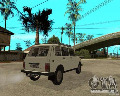 Niva Vaz 2131 para GTA San Andreas