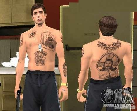 Blatnye tatuagens para GTA San Andreas