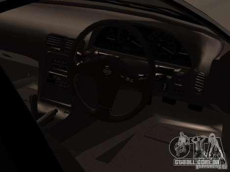 Nissan Silvia PS13 para GTA San Andreas vista traseira