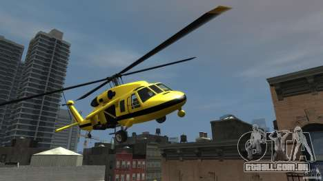 Yellow Annihilator para GTA 4 vista de volta