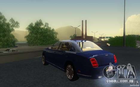 Bentley Continental Flying Spur para GTA San Andreas vista interior