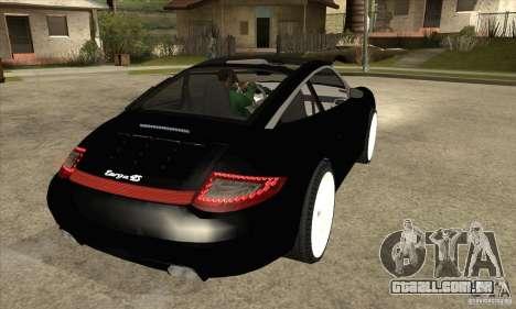 Porsche 911 Targa 4 para GTA San Andreas vista direita